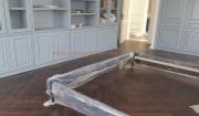 Công trình sàn gỗ Chiu Liu lắp kiểu xương cá quận Long Biên