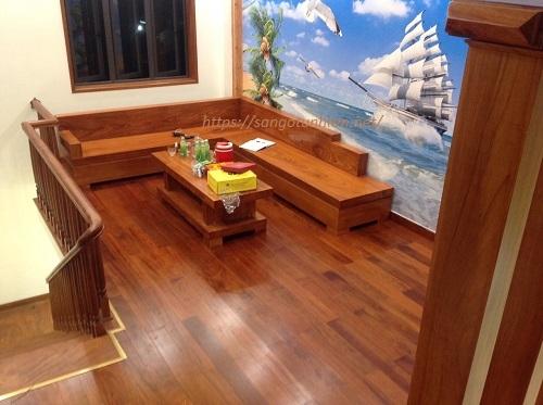 Sàn gỗ Căm Xe 18*120*900mm