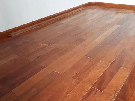 Sàn gỗ Lim Lào 15 * 90 * 750mm