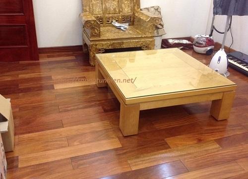 Sàn gỗ Lim Lào 15 * 90 * 900mm